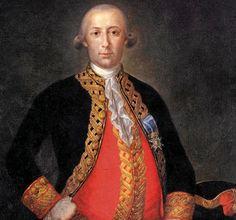 Bernardo Gálvez, Héroe de la guerra de la independencia norteamericana contra los ingleses.