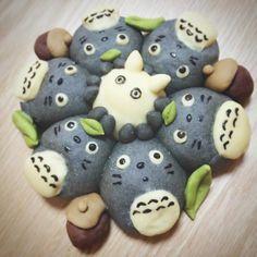 いいね!359件、コメント34件 ― shioriさん(@some.shi)のInstagramアカウント: 「ととろぱん♡むふふ #totoro #トトロ #ジブリ #ちぎりぱん ##チギリパン#キャラパン #パン#手作りパン #デコパン」