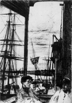 Rotherhithe by James McNeill Whistler