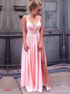 Spaghetti Straps Long Prom Dress Formal 3ea011f75