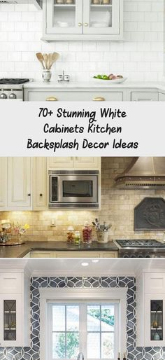 Backsplash Kitchen White Cabinets, Kitchen Appliances, Big Windows, Coastal Homes, Kitchen Lighting, Kitchen Decor, Decor Ideas, Interior, Design