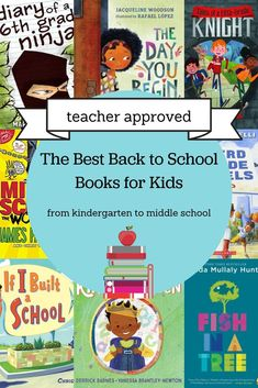 8 Series to Get Your Middle Grade Child Excited about Reading - MomAdvice Middle School Books, Back To School Kids, Middle School Teachers, First Day Of School, Read Aloud Books, Dream School, Kindergarten First Day, Kids Reading, Reading Lists