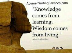 #Knowledge #Wisdom