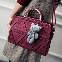 2017 New High Quality Winter Womens Tote Handbag Splice Shoulder Bags Lady Patchwork Shopping Bags Fashion Messenger Bag
