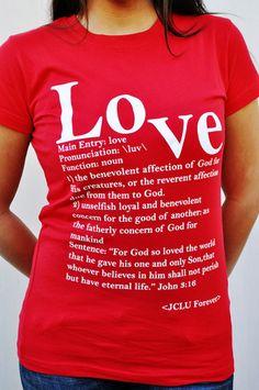 JCLU FOREVER Christian Tee Shirts 30167db9a2a