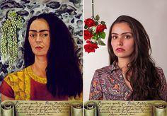 O que começou como um trabalho acadêmico da estudante de desenho industrial na Universidade Federal de Santa MariaJuliana Krupahtz para a disciplina de História da Arte, acabou se transformando em um projeto de empoderamento feminino, inspirado na figura da artista Frida Kahlo. A ideia do Frida em Foto era reunir mulheres que se identificassem com a trajetória da artista para recriar alguns de seus autorretratos, utilizando fotografias. Todas as modelos que fazem parte do livro são…