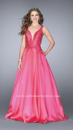 Check out the latest Gigi by La Femme 24577 dresses at prom dress stores  authorized by the International Prom Association. 4935dd87735c