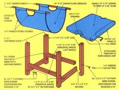 Mother's Firewood Carrier and Crib - Do It Yourself - MOTHER EARTH NEWS