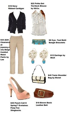 All Item Available at jcpenny.com or in your local JCPenny Store. Outfit Totals $192!