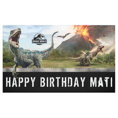 Shop Jurassic World Dinosaur Birthday Invitations, Party Invitations Kids, Dinosaur Birthday Party, Birthday Ideas, Birthday Parties, Park Birthday, Happy 5th Birthday, Jurassic Park Party, Amblin Entertainment