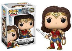 Wonder Woman Funko POP! #JusticeLeague #DC #DCcomics #WonderWoman #Funko #Funkopop