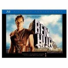 BLU RAY - Ben Hur set - normally $69.99 but here it is $46.19 - what a classic
