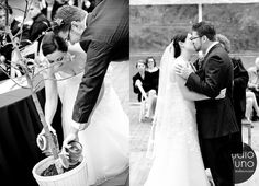 Unique alternatives to the Unity Candle portion of your wedding. How about a Unity Tree! Bride and groom take soil from their childhood home, and pour it into a tree they later plant at their house.I like it for you and Erik! Non Religious Wedding Ceremony, Unity Ceremony, Wedding Time Capsule, Unity Candle Alternatives, Boxing Events, Wedding Advice, Wedding Ideas, Wedding Renewal Vows, Tree Wedding