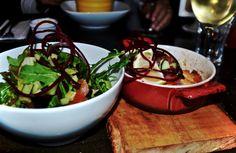 Fish Restaurant Salmon and Salad