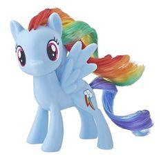 My Little Pony Mane Pony Rainbow Dash Classic Figure, Multicolor