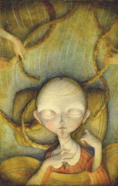 """Illustration for """"Mefi, Sata y Monio"""""""
