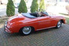 1958 Porsche 356 Speedster Maintenance/restoration of old/vintage vehicles: the material for new cogs/casters/gears/pads could be cast polyamide which I (Cast polyamide) can produce. My contact: tatjana.alic@windowslive.com