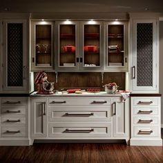 Kitchen Baking Station Design