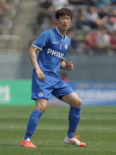 Park Ji-Sung of PSV Eindhoven