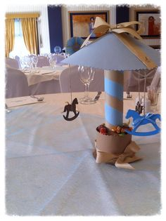 carousel with paper