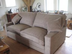 The Allardyce, from our UK bespoke sofa range - made in Nottingham to standard or made to measure sizes.