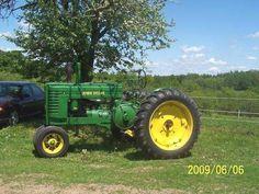 Old John Deere tractors  1944 Model A