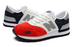 Men And Women New Balance 990 NB990 Shoes 990 Netherlands Flag Red White Navy only US$75.00 - follow me to pick up couopons.