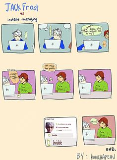 """Jack on Facebook XD (lol, Hiccup's just like, """"._."""")"""