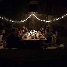 4himglory:  Beth Kirby I Party, Dinner Table, Fall Dinner, Local Milk, Outdoor Spaces, Outdoor Dining, Rehearsal Dinners, Special Events, Table Settings