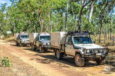 trayon camper slide on camper 4wd suspension convoy. Toyota landcruiser