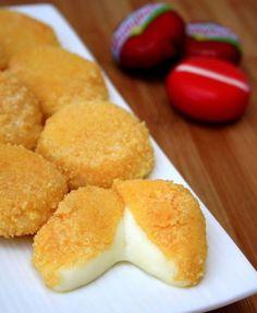 Découvrez la recette Mini-fromages pané sur cuisineactuelle.fr.