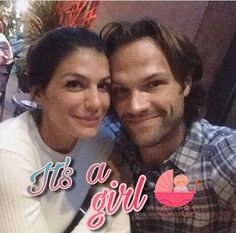 Jared and Gen are having a girl!! Yay!! They're finally getting their girl!!