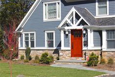 Heathered Moss And Mountain Sage Hardie Curb Appeal