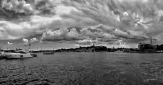 Viewing towards the future.... It's really hard to see anything.  #lost #lgg4 #panorama #stockholm