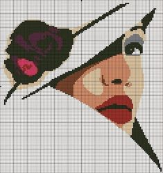 quilting like crazy Cross Stitching, Cross Stitch Embroidery, Cross Stitch Patterns, Piskel Art, Cross Stitch Silhouette, Tapestry Crochet Patterns, Art Sketchbook, Beading Patterns, Needlepoint