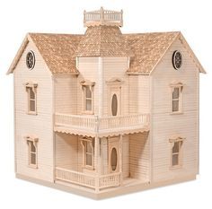 The House That Jack Built - Holly Ann - Wooden Doll House