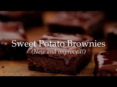 Deliciously Ella - Sweet Potato Brownies (New Recipe!) - YouTube