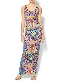 Mara Hoffman Fit Tank Maxi Dress | Piperlime -Love this