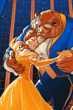 Beauty and the beast disney pixar, disney fan art, walt disney, disney magic Disney Films, Disney And Dreamworks, Disney Cartoons, Disney Posters, Disney Villains, Disney Princesses, Disney Pixar, Beauty And The Beast Wallpaper, Beauty And The Beast Art