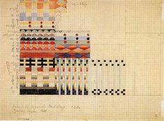 Bauhaus textile study