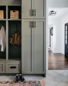 "Lonny on Instagram: ""There's nothing better than a well organized mudroom. 👀👢// Design by @millyjanestudio. // Photography by @margaretrajic."""