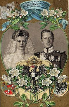 1905 Wedding of Crown Prince Wilhelm of Prussia and Cecilie Duchess of Mecklenburg-Schwerin