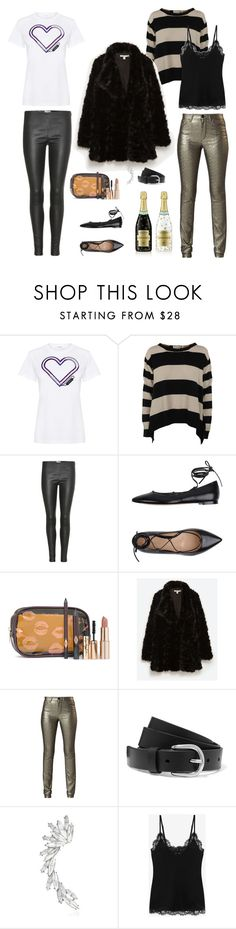 """Saturday"" by largeskinnylatte ❤ liked on Polyvore featuring Carven, Yves Saint Laurent, Gianvito Rossi, Charlotte Tilbury, Zara, Rebecca Minkoff, Isabel Marant, Étoile Isabel Marant and Alexander McQueen"
