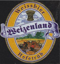 Weizenland Weissbier Hefetrub, German Hefeweizen 5,4 % ABV (Kaiserdom Privatbrauerei, Alemania) #label