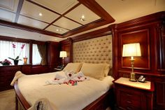 Yacht bedroom