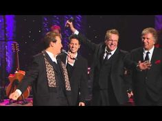 "The Gaither Vocal Band performing ""I Believe in a Hill called Mount Calvary"" --  Spring, 2012  (i love gospel music!)"