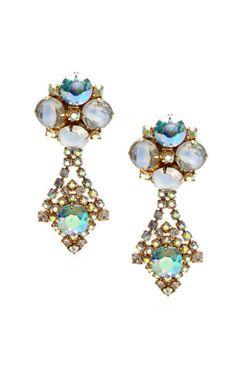 Hobe Blue Drop Earrings