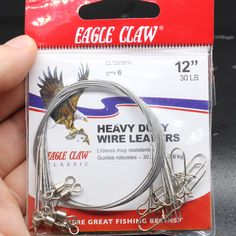 Cheap bag fishing, Buy Quality wire fishing directly from China saltwater fishing Suppliers: Hot Sale Heavy Duty Wire Leaders For Freshwater/Saltwater Fishing Fishing Store, Fishing Lures, Hook And Tackle, Fishing Accessories, Saltwater Fishing, Fresh Water, Wire, Bags, Hot