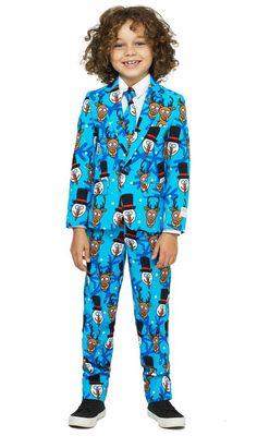 9e5675ecb74 Men's OppoSuits Slim-Fit Doodle Dude Suit & Tie Set, Size: 48 ...
