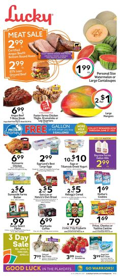Lucky Weekly Ad April 19 - 25, 2017 - http://www.olcatalog.com/lucky-supermarkets/lucky-weekly-ad.html